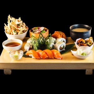 Sushi - Hot food combinations